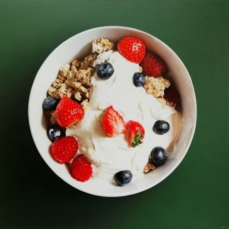 More Mouthwatering Hyper-Realistic Food Paintings by Tom Martin | Strange days indeed... | Scoop.it
