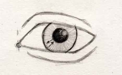 comment dessiner des yeux dessin d 39 anatomie. Black Bedroom Furniture Sets. Home Design Ideas