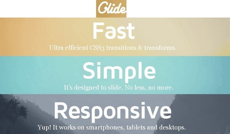 10 jQuery Mobile Slider plugins | jQuery By Example | jQuery By Example | Scoop.it