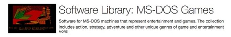 Software Library: MS-DOS Games : Free Software : Download & Streaming : Internet Archive | K-12 Web Resources | Scoop.it