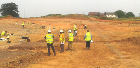 Roman settlement mitigation at Bristol development   Archaeology News   Scoop.it