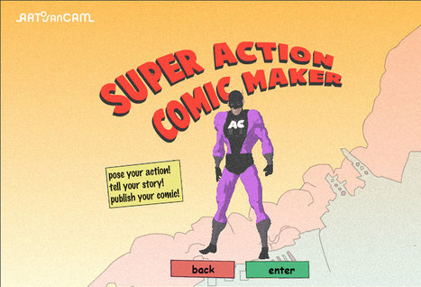 ArtisanCam - Activities - Super Action Comic Maker | Teaching & Learning Resources | Scoop.it