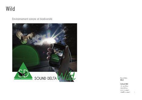 Wild - Environnement sonore et biodiversité - Collectif MU | Art, Sound, Performances, Technologies | Scoop.it