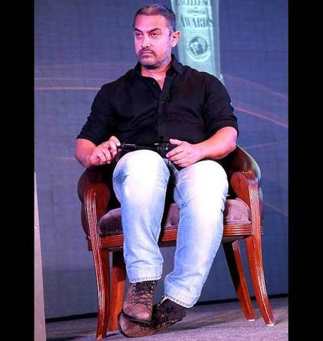 Is Aamir Khan Aging Or It's Simply One Of His Movie Looks? | Celebrity Entertainment News | Scoop.it