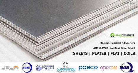 304H Stainless steel Stockiest Suppliers india | Gaurav Steel | Scoop.it