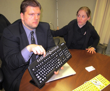Pricey technology helps the deaf-blind go online - Columbus Dispatch | Technological Sparks | Scoop.it