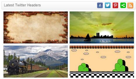 Opciones para personalizar nuestra portada en Twitter | Innovación docente universidad | Scoop.it