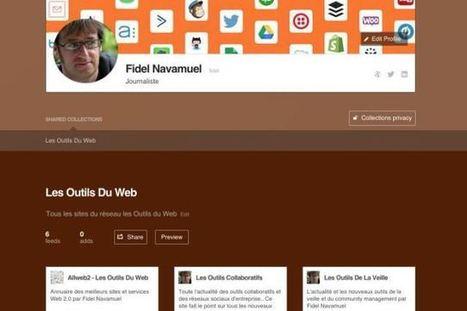 Feedly lance les collections partagées | Les outils de la veille | Geeks | Scoop.it