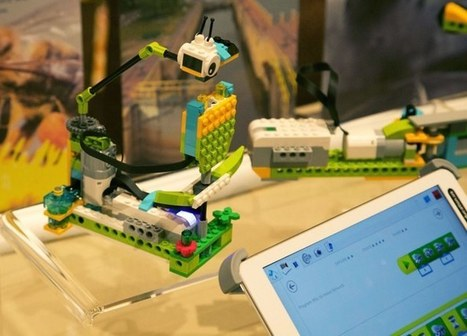 Lego aims to make learning more fun with WeDo 2.0 | Maker Movement in the Elementary Classroom | Scoop.it