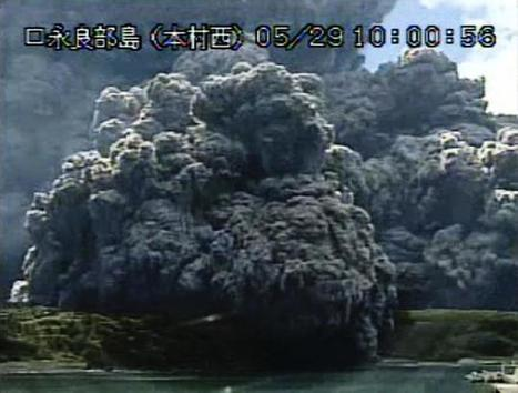 Japanese volcano erupts, forcing island to evacuate | GMOs & FOOD, WATER & SOIL MATTERS | Scoop.it