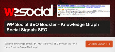 WP Social SEO Booster - Boost SERP Visibility with Microdata | SEO, Marketing, Social Media, News | Scoop.it