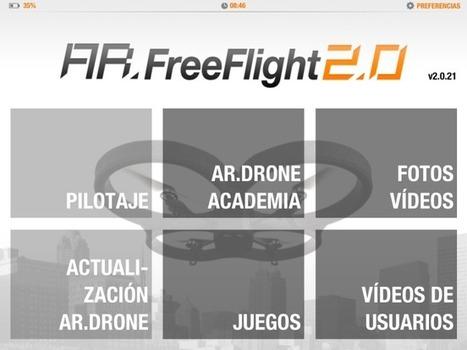 AR Drone 2.0, lo hemos probado (con vídeo) | Diseños y Soluciones | Scoop.it