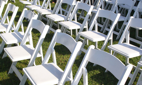 Folding Chairs for Hire that Perk Up Your Event Venue | Event Hire Peninsula | Scoop.it