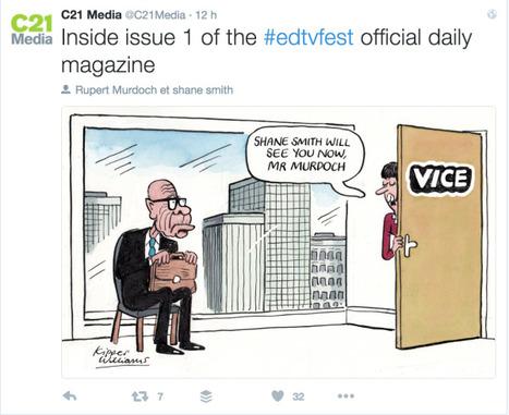 Le patron de Vice aux vieux médias : donnez vite les clés aux jeunes ! | Big Media (En & Fr) | Scoop.it