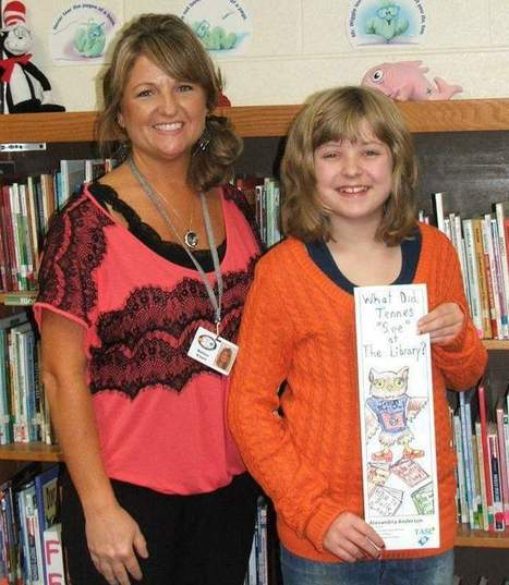 Local student wins state bookmark contest | Tennessee Libraries | Scoop.it