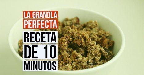La granola perfecta: Receta de solo 10 minutos | Runfitners | Salud y Deporte | Scoop.it