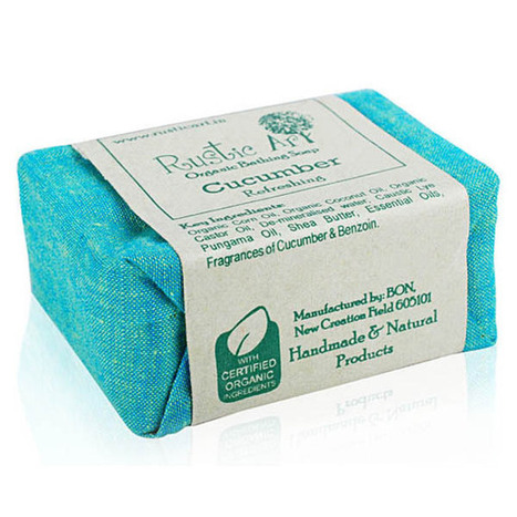 Rustic Art Organic Cucumber Soap – Keep skin smooth and fresh | Health Care | Scoop.it