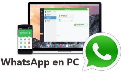 Como Enviar y Responder Mensajes a WhatsApp desde PC con AirMirror | Recull diari | Scoop.it
