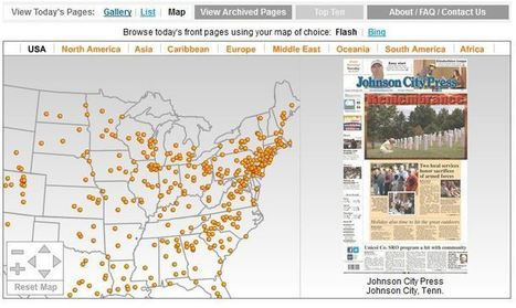 12 cool ways of visualizing the News | A (minha) Vida Digital | Scoop.it
