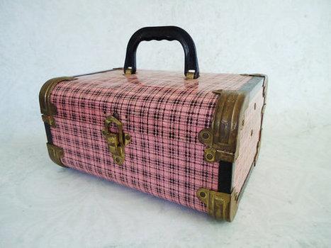 Small Vintage Metal Case | Craft ideas | Scoop.it