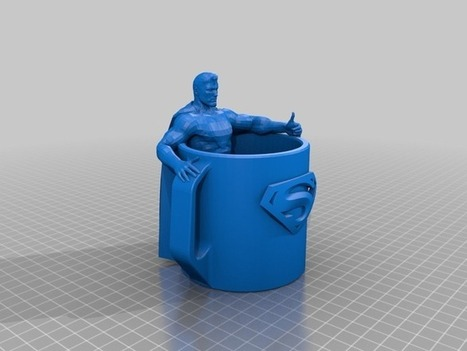 Superman Cup! by howarto - Thingiverse   3D Product Design   Scoop.it
