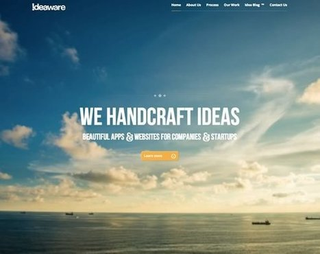 21 Clean Web Design Layouts | Inspiration | Current Updates | Scoop.it