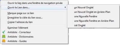 Modifier la façon dont les liens s'ouvrent sur Firefox, Open link in... | Les Infos de Ballajack | François MAGNAN  Formateur Consultant | Scoop.it
