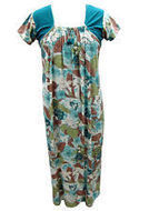Gypsy Sleepwear Nighties Ladies Nightgown Maxi Dress | caftan Kaftan | Scoop.it