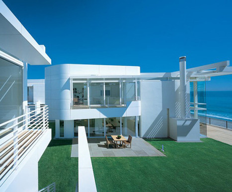 Modern Beach House Design Ideas by Richard Meier | All Dreaming | Beautiful Beach Houses | Scoop.it