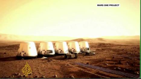 Volunteers set sights on Mars mission | YouTube | The NewSpace Daily | Scoop.it