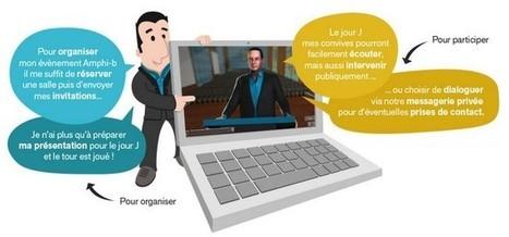 Amphi-B : organiser une conférence virtuelle avec des avatars | Cabinet de curiosités numériques | Scoop.it