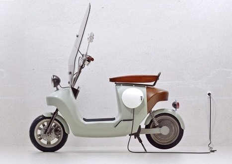 An Electric Scooter That's Made More Naturally | EarthTechling | Battery, Automotive, Energy Power and Environment | Scoop.it