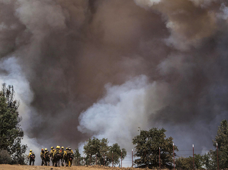 Raging California wildfire threatens more of Yosemite | Jokes and Funny Stories around the Globe | Scoop.it