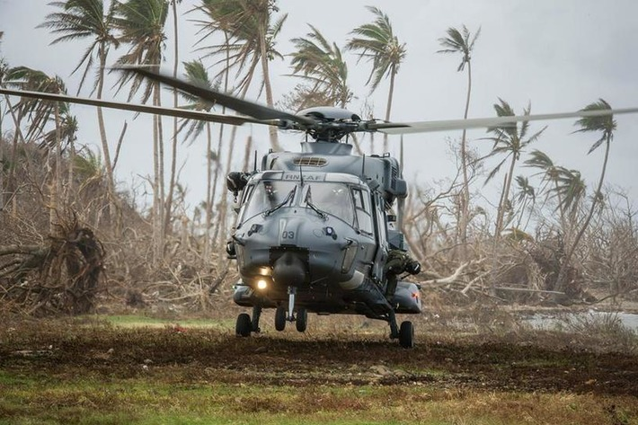 NH90 helicopter proves its mettle - humanitarian aid operation in Fiji - New Zealand Defence Force | NHIndustries - NH90 | Scoop.it