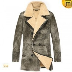 Men's Leather Fur Coat CW878091 | Fur Trimmed Coats | Scoop.it