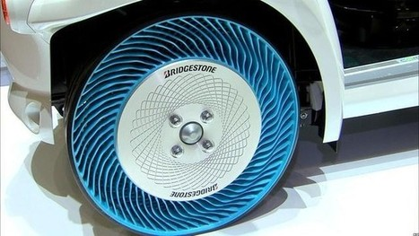 WATCH: Why Airless Tires Might Be the Future of Driving | leapmind | Scoop.it