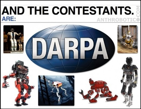 NEW VIDEO: DARPA Robotics Challenge, Track A – Meet the Big 6 for December | anthrobotic.com | Scoop.it