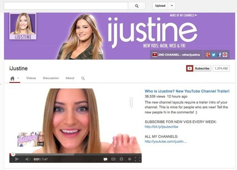 New YouTube Channel Design: What You Need To Know | Social Media Today | Social Media Revolution | Scoop.it