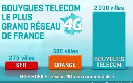 Bouygues Telecom forcé de retirer une publicité comparative sur la 4G | Au fil du Web | Scoop.it