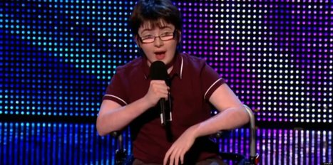 This 14-Year-Old Comedian Is Our New Hero (VIDEO) | Differently Abled and Our Glorious Gadgets | Scoop.it