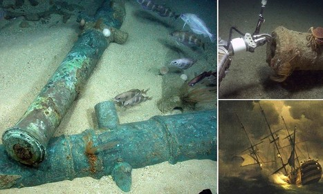 Take 'virtual dive' among the wreck of HMS Victory for the first tim | British Genealogy | Scoop.it