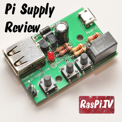 Pi Supply - ATX style power switch for Raspberry Pi | Raspberry Pi | Scoop.it