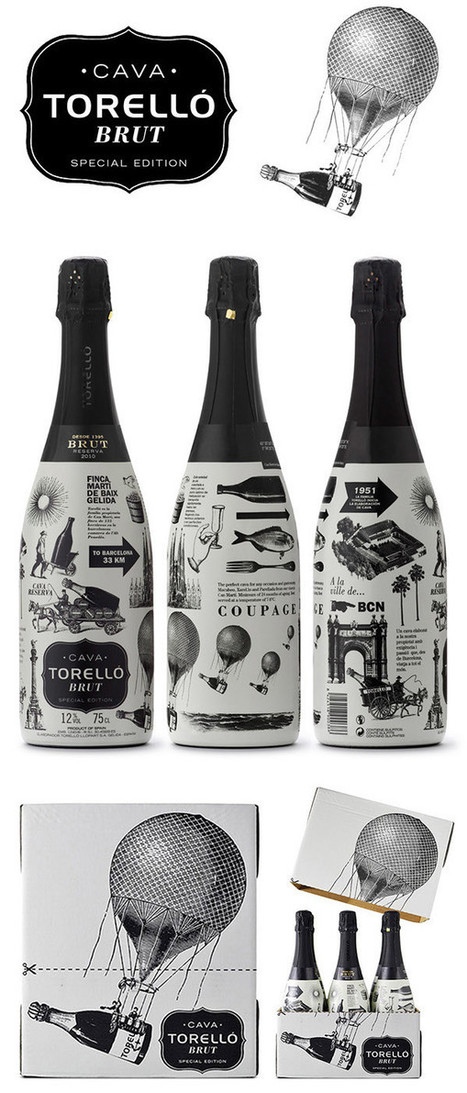 25 Creative Bottle Label Designs with Awesome Typography | Design | Scoop.it
