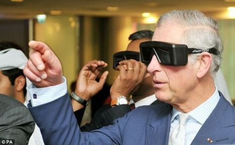 Prince Charles dons Augmented Reality glasses on visit to science park | Andrew Cassidy's Augmented Reality links | Scoop.it