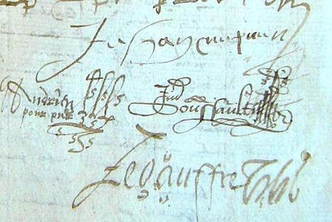 MODES de VIE aux 16e, 17e siècles » Archive du blog » Demande de nouveau curateur pour cause de mauvaise gestion, Champteussé sur Baconne 1582   blog de Jobris   Scoop.it