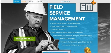 Access your business on smartphone with Work Order Management System | Field Service Management Software | Scoop.it