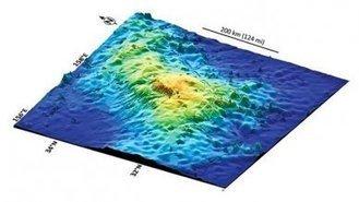 Descubren el volcán más grande del mundo | Inteligencia Geográfica | Scoop.it