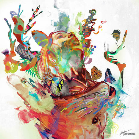 Interview with #Digital #Artist Archan Nair. #art #colour | Luby Art | Scoop.it