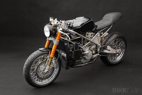 Ducati 999S BY VENIER CUSTOMS | Cafe Racers | Scoop.it