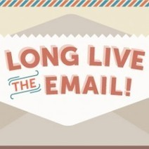 Long Live the Email! | Visual.ly | iGeneration - 21st Century Education | Scoop.it